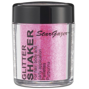 Glitter Shaker - UV Pink 5g (For Hair, Body and Party)