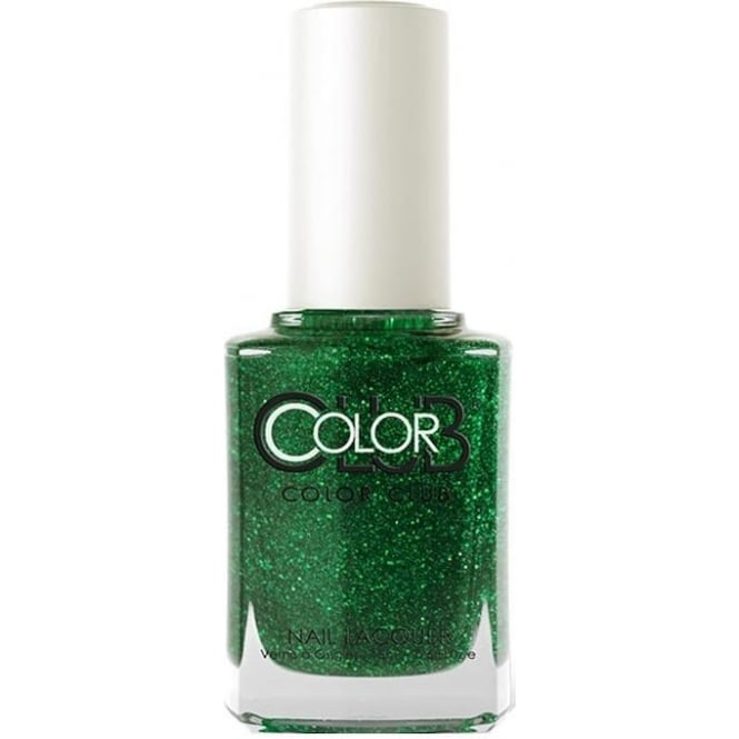 Color Club Glitter Vixen Nail Polish Collection - Object of Envy (847) 15mL
