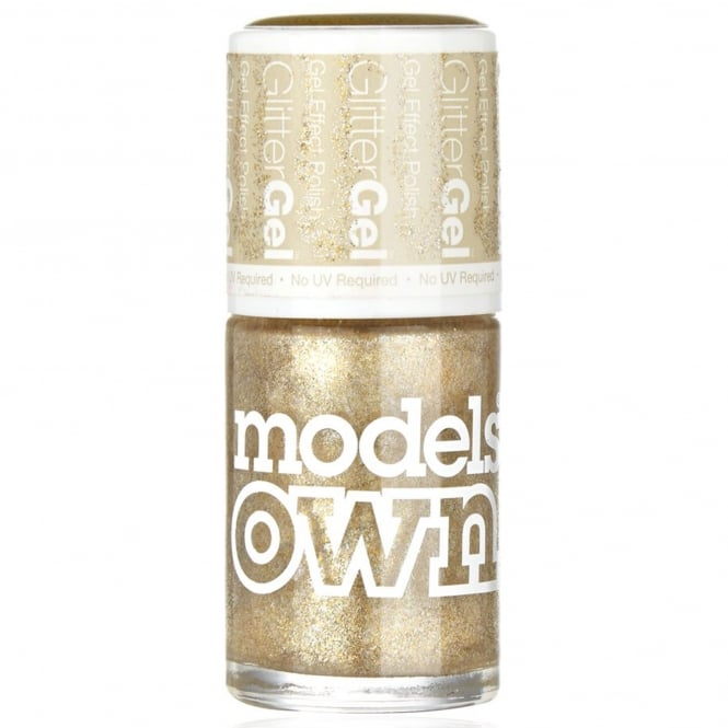 Models Own GlitterGel Gel Effect Nail Polish- Sheer Sparkle (14ML) (SG051)