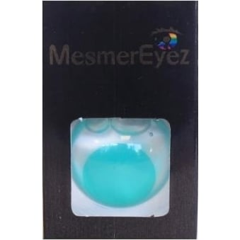 Green Blind Contact Lenses - 1 Day / Use Fancy Dress Accessories - Blind Green