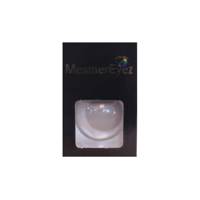 Mesmereyez - Hunt Or Dye Grey Blind Contact Lenses - 1 Day / Use Fancy Dress Accessories - Blind Grey