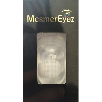Halloween Coloured Contact Lenses (1 Pair) - Blind White Mesh(1 Day Usage)