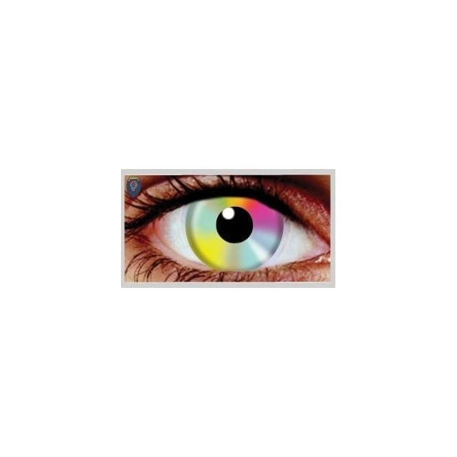 Hunt Or Dye Halloween Coloured Contact Lenses (1 Pair) - Hippy (1 Day Usage)
