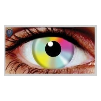 Halloween Coloured Contact Lenses (1 Pair) - Hippy (1 Day Usage)