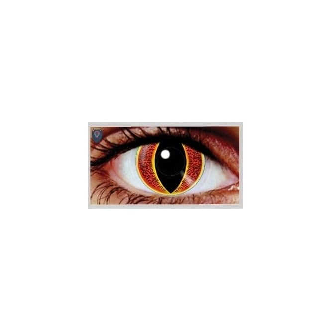 Hunt Or Dye Halloween Coloured Contact Lenses (1 Pair) - Souron (1 Day Usage)