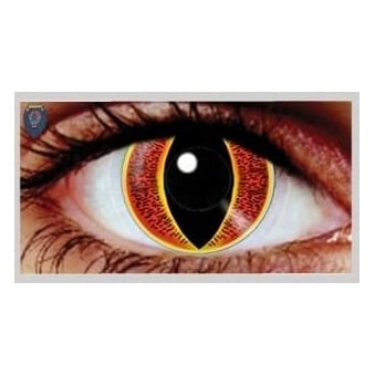 Halloween Coloured Contact Lenses (1 Pair) - Souron (1 Day Usage)