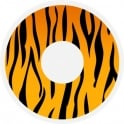 Hunt Or Dye Halloween Coloured Contact Lenses (1 Pair) - Tiger (1 Day Usage)