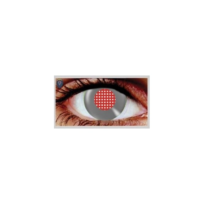 Hunt Or Dye Halloween Coloured Contact Lenses - Android Metallic (1 Day) (1 Pair)