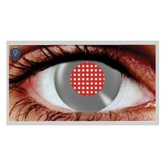 Halloween Coloured Contact Lenses - Android Metallic (1 Day) (1 Pair)