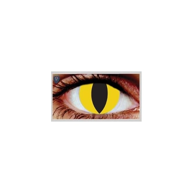 Hunt Or Dye Halloween Coloured Contact Lenses - Feline (1 Day) (1 Pair)