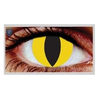 Halloween Coloured Contact Lenses - Feline (1 Day) (1 Pair)
