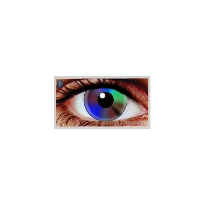 Hunt Or Dye Halloween Coloured Contact Lenses - Tie Dye (1 Day) (1 Pair)