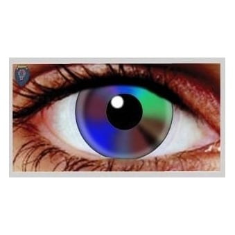 Halloween Coloured Contact Lenses - Tie Dye (1 Day) (1 Pair)