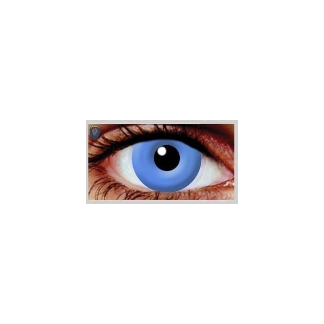 Hunt Or Dye Halloween Coloured Contact Lenses - UV Blue (1 Day) (1 Pair)
