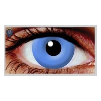 Halloween Coloured Contact Lenses - UV Blue (1 Day) (1 Pair)