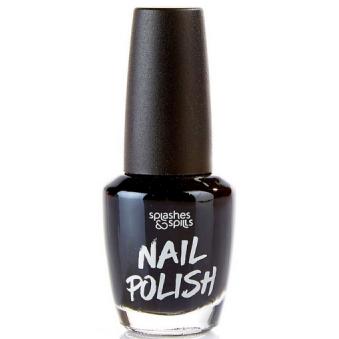 Halloween Nail Polish - Black 13ml