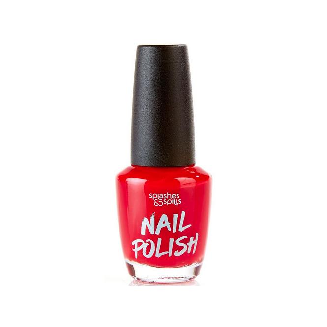 Splashes & Spills Halloween Nail Polish - Red 13ml