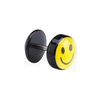 Happy Days Acrylic Fake Ear Plug