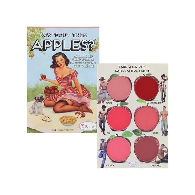 TheBalm How 'Bout Them Apples? Cheek and Lip Cream Palette 20g