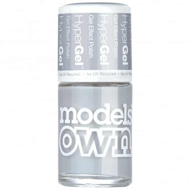 Models Own HyperGel 2015 Gel Effect Nail Polish - Lunar Grey 14mL (SG034)