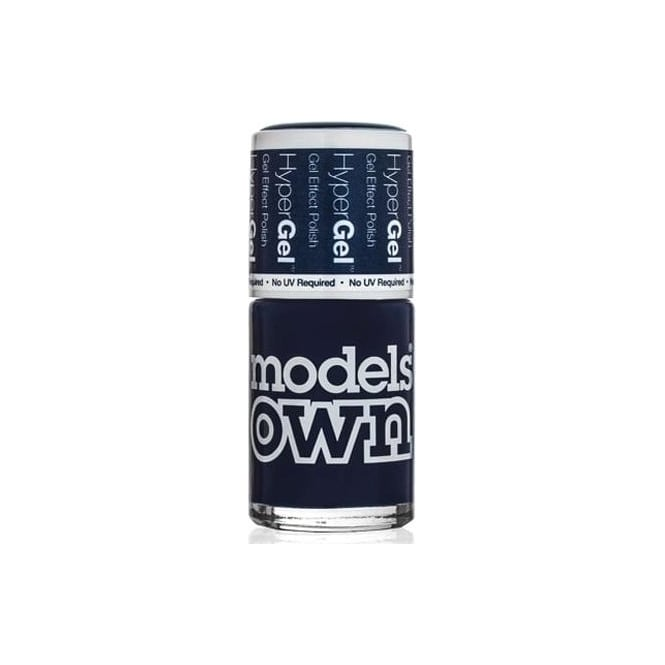 Models Own HyperGel Gel Effect Nail Polish Collection - Inky Blue 14mL