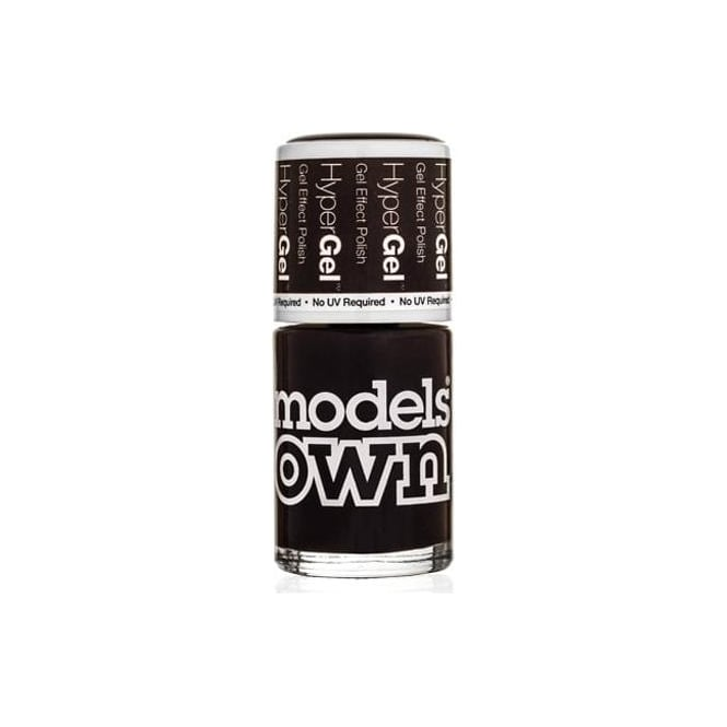 Models Own HyperGel Gel Effect Nail Polish Collection - Raven Red 14mL