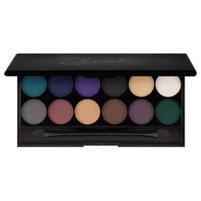 Sleek Make Up i-Divine Mineral Based Ultra Mattes Darks Eye Shadow Palette v2