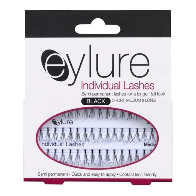 Eylure Individual Lashes Set - Semi-Permanent - Short, Medium & Long - Black