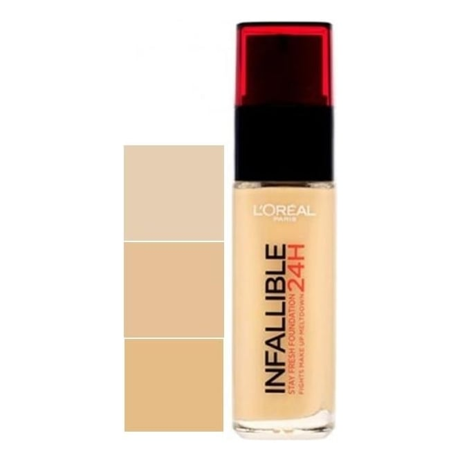L'Oreal‎ Infallible Stay Fresh Foundation 24H (SPF18) 30ml