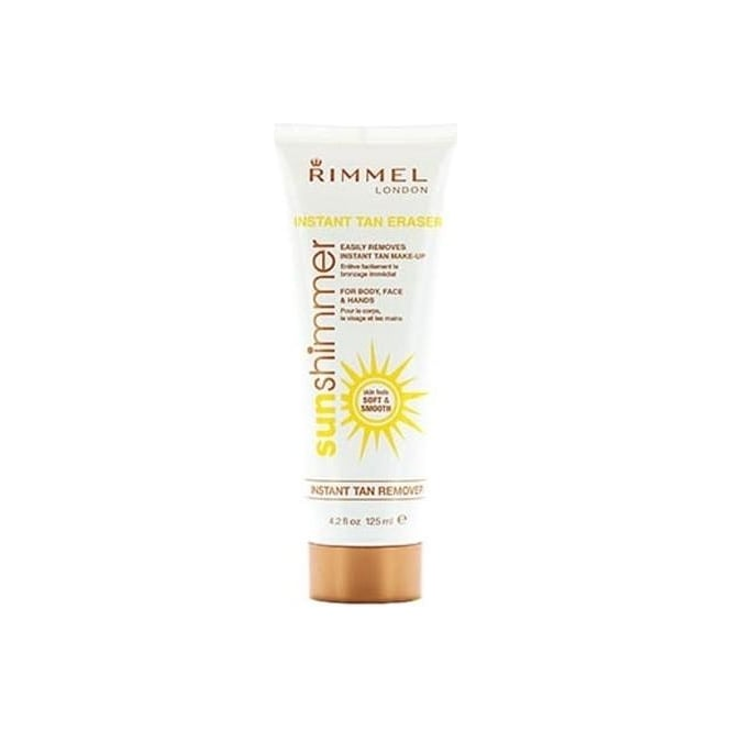 Rimmel Instant Tan Remover/Eraser For Hands, Body and Face 125ml.