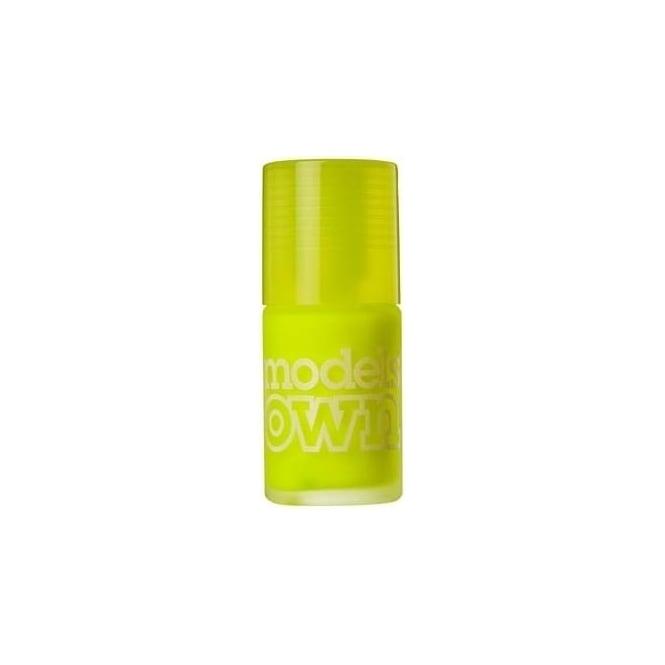 Models Own it Ice Neon Nail Polish Luis Lemon 14ml
