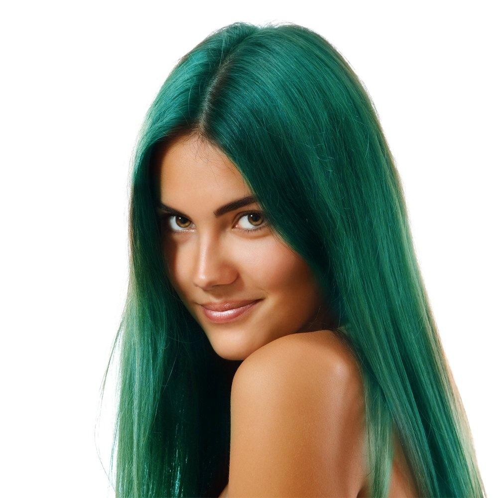 directions la riche semi permanent hair dye colour turquoise