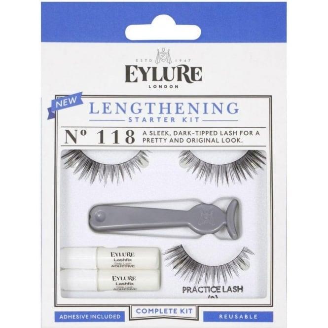 Eylure Lengthening False Lashes Starter Kit Complete Set (118)