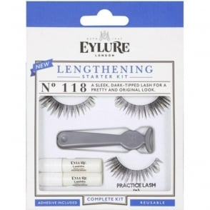 Lengthening False Lashes Starter Kit Complete Set (118)