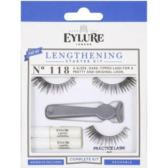Lengthening False Lashes Starter Kit Complete Set (118)