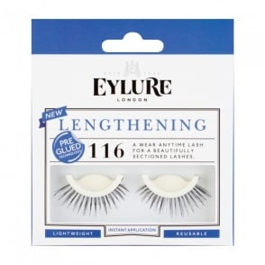 Lengthening No 116 Reusable Sectioned Eyelashes Pre Glued (Instant Application)