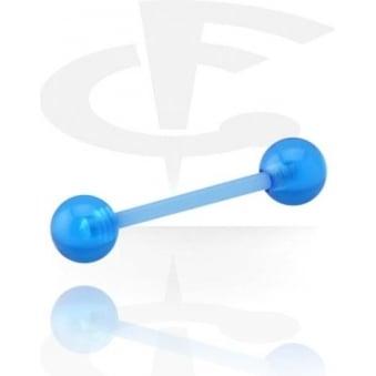 Light Blue Flexible Barbell
