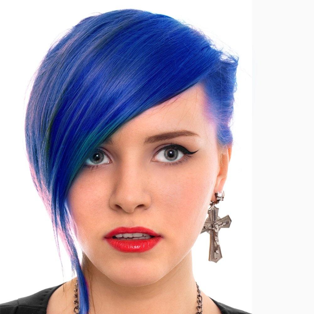 Semi Permanent Hair Dye Rockabilly Blue