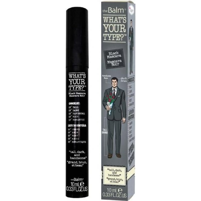 TheBalm Mascara - Whats Your Type? Tall Dark And Handsome