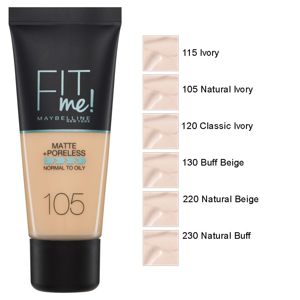 6a38f975861 Fit Me Matte And Poreless Foundation (30ml)