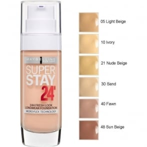 Maybelline SuperStay 24hr Longwear Foundation (30ml)