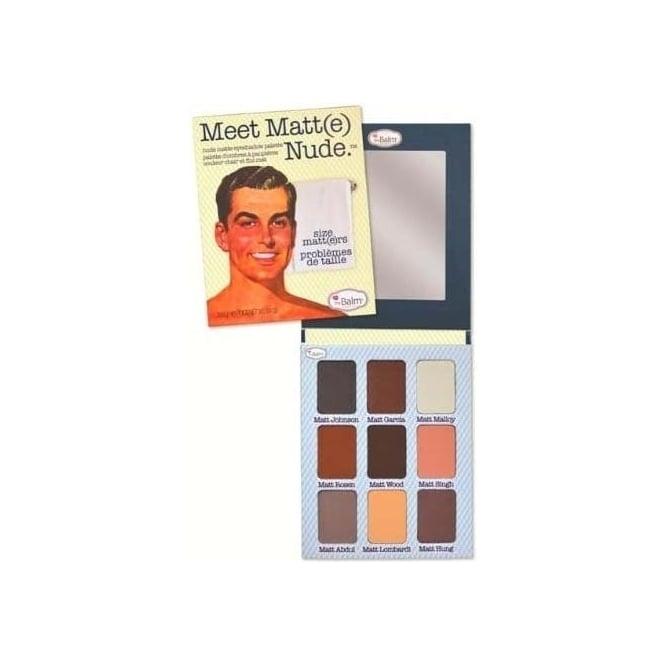 TheBalm Meet Matt(e) NUDE Palette - Large Eye Shadow Palette.