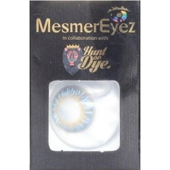 Diamond Blue Contact Lenses - 1 Day / Use Natural Fancy Dress Accessories
