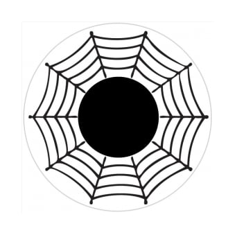 Fancy Dress One Day Halloween Contact Lenses - Spider (1 Pair)