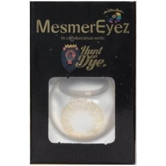 Honey Coloured Contact Lenses - 1 Day / Use Natural Fancy Dress Accessories