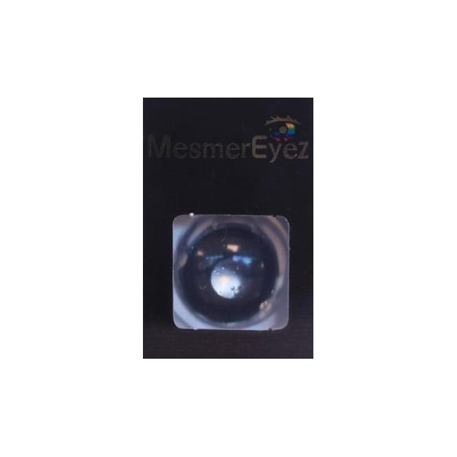 Mesmereyez - Hunt Or Dye Mini Sclera Possessed Black Contact Lenses - 1 Day / Use Fancy Dress Accessories