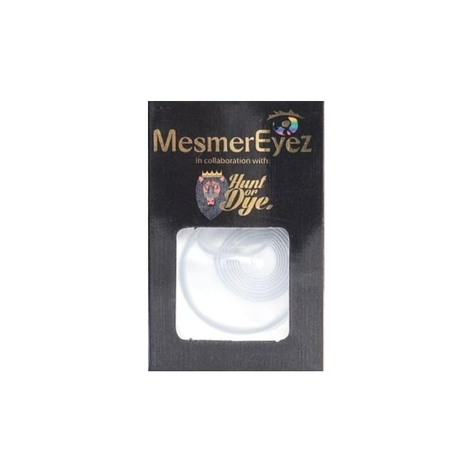 Mesmereyez - Hunt Or Dye Psycho Contact Lenses - 1 Day / Use Fancy Dress Accessories