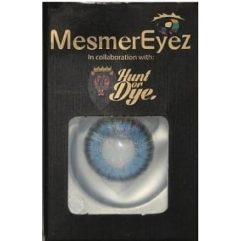 Real Blue Contact Lenses - 1 Day / Use Natural Fancy Dress Accessories