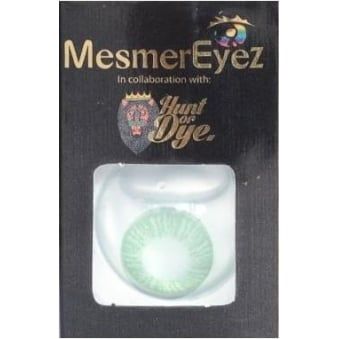 Sea Green Contact Lenses - 1 Day / Use Natural Fancy Dress Accessories