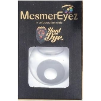 Zombie Grey Contact Lenses - 1 Day / Use Fancy Dress Accessories